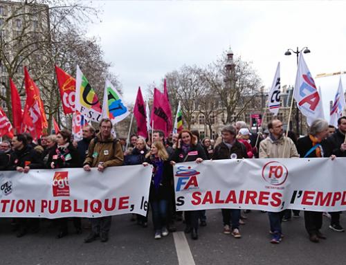 Mobilisation dans la Fonction publique : dans une unité totale