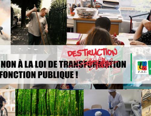 En mai, la Fonction publique au coeur de nos mobilisations