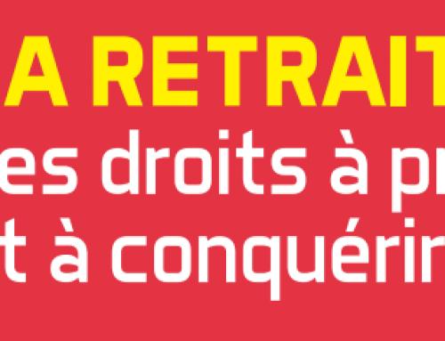 Le 8 octobre 2019 : les retraité.e.s réclament justice !