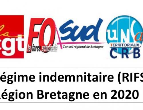RIFSEEP région : pour un système équitable et transparent, en grève  jeudi 28 novembre !