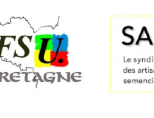#5 décembre : la lutte s'amplifie, les convergences aussi ! Appel commun Syndicat des artisans semenciers & FSU