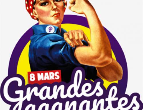 Le 8 mars : marche des grandes gagnantes !