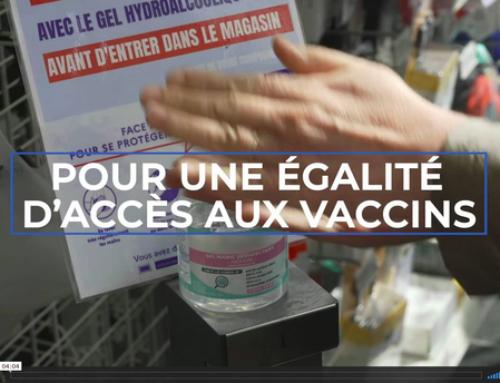 Expression Directe – Pour une égalité d'accès aux vaccins