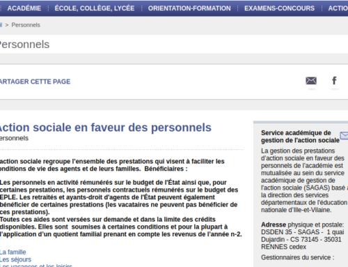 Commission académique de l'action sociale : action sociale ou déni social ?