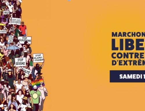 Pour nos libertés et contre les idées d'extrême-droite : marchons samedi 12 juin